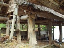 三方町での船小屋の調査