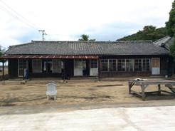 明治の離島の木造小学校(本島小学校尻浜分校校舎)