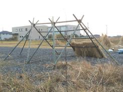 小屋組作成 -オープンキャンパスに向けて-