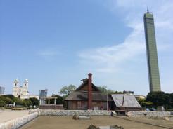 宇多津町での町屋の温熱環境調査