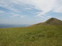 塩塚高原での調査