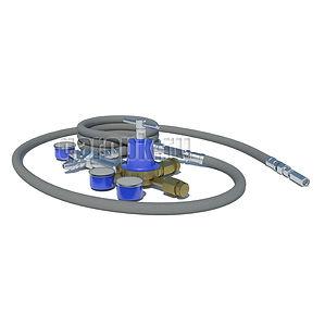 29-33 Приспособление для заправки газом цилиндров подвески а/м БелАЗ г/п 30...200 тн
