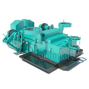 29-19м Стенд для ремонта и испытания цилиндров подвески, рулевого мех-ма и ЦОМ БелАЗ гп 80-220тн