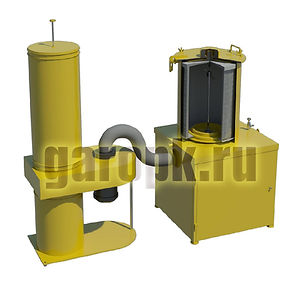 10-77мУстановка для продувки воздушных фильтров № 200.00.100 а/м БелАЗ