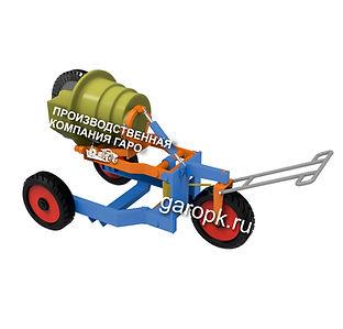 24-18 Тележка для снятия и установки редуктора заднего моста автомобилей БелАЗ гп 30...45 тн