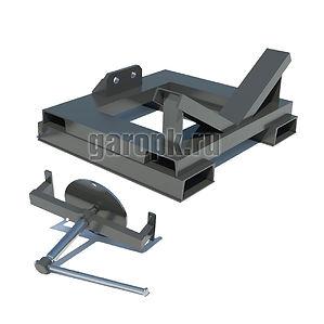 31-95 Приспособление для снятия и установки ступицы переднего колеса автомобиля БелАЗ-7513