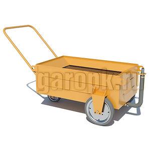 ПТ-70Тележка для слива масел со всех агрегатов автомобилей БелАЗ-7540, 7548, 7547