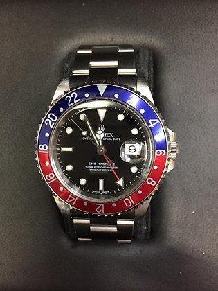 ROLEX GMT-MASTER II - Réf: 16710