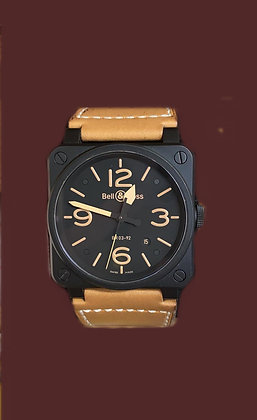 """BELL & ROSS """" HERITAGE""""- BR0392 S"""