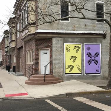 Viola Street Murals in Camden, NJ