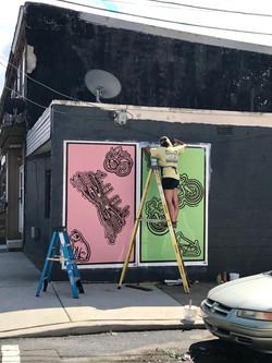 Emerald Street Murals