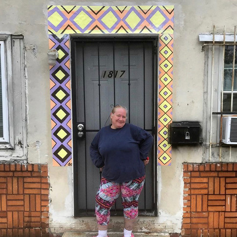 Lisa's Doorway Mural