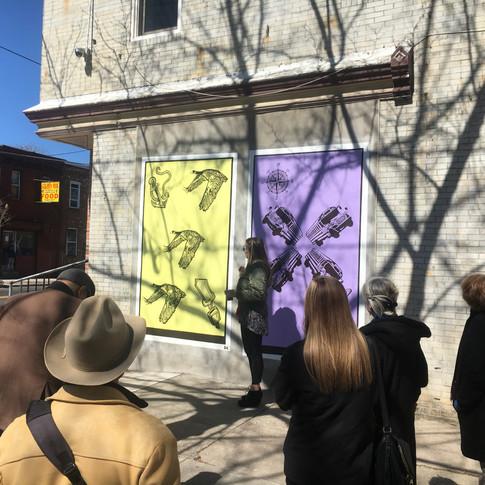 Viola Street Murals in Camden, NJ (Mural Tour)