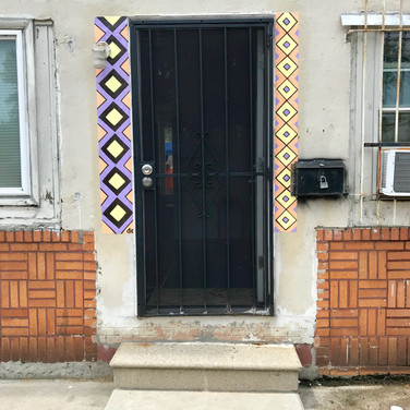 Lisa's Doorway Mural (In-progress)