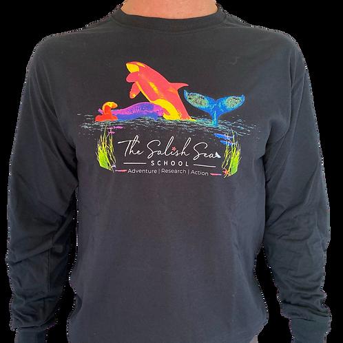 The Salish Sea School Long Sleeve T-Shirt