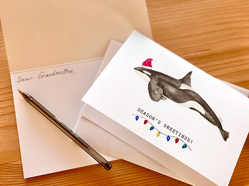 Send a card with a personal message