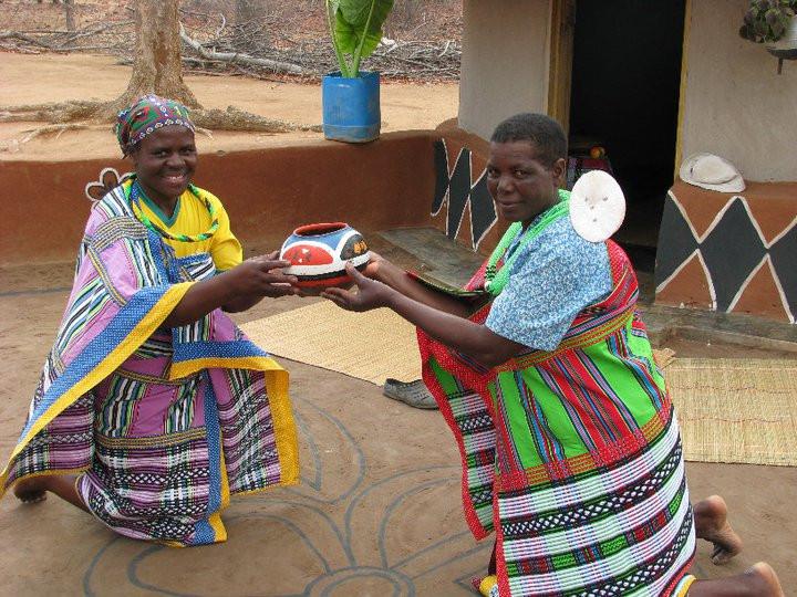 My host Venda family in Hamakuya, South Africa © Haley Pope