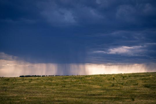 A Storm on the Plains