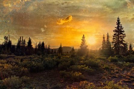 Flat Top Sunset
