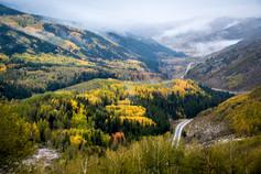 Misty Mountain Autumn