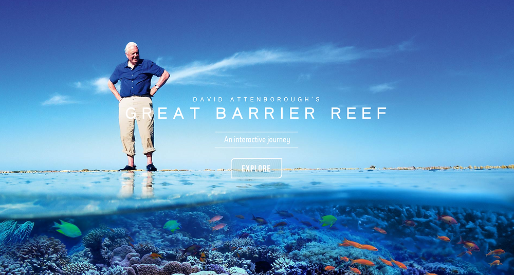 Explore the Great Barrier Reef with David Attenborough