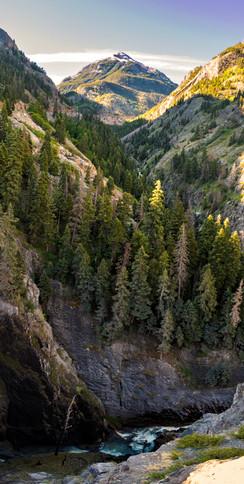 At Bear Creek Falls