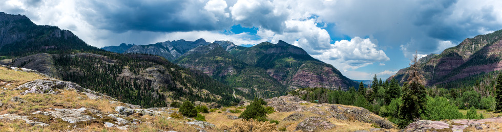 San Juan from Ouray