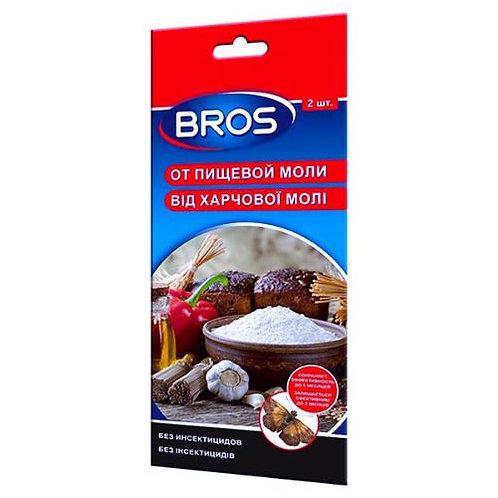 BROS (Брос)  – клеевая ловушка для отлова пищевой моли с феромонами, 2 шт