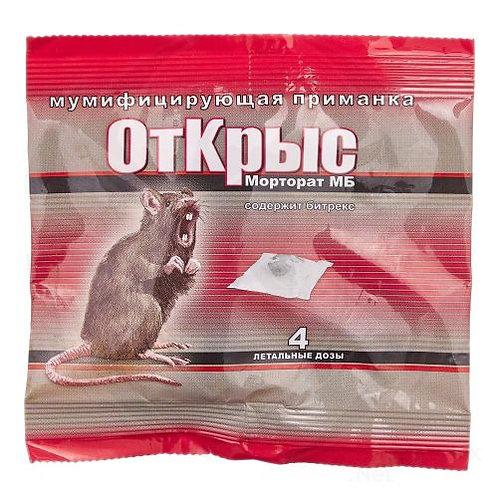 ОтКрыс - мумифицирующая приманка от грызунов