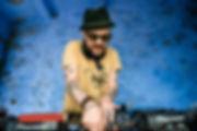 DJ Justin Robertson a Festival Number 6 by Wesle Storey
