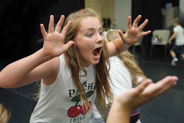 20 Stories High drama workshop. Photo by Wesley Storey