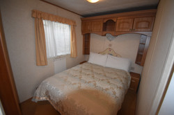 Static Caravan Portrush Bedroom