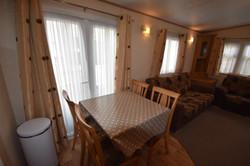 Static Caravan Portrush Dining Area