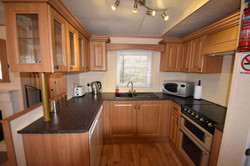 Static Caravan Portrush Kitchen