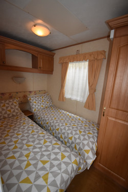 Static Caravan Portrush Bedroom 2
