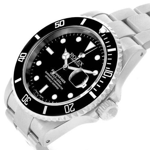 Rolex Submariner 16610 W/Date 2002