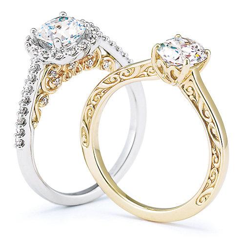 Solid Gold & Platinum Jewelry