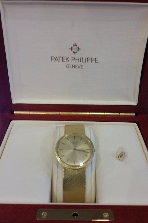 Patek Philippe 18k  Gold 3484/2 1960's Watch