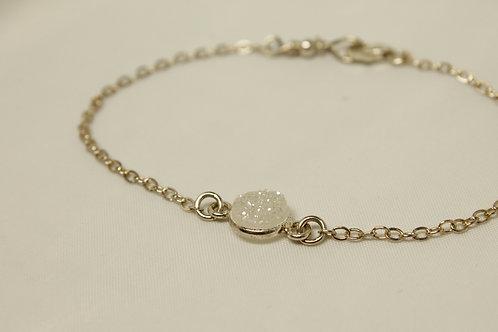 Druzy Bracelet in 925 Silver