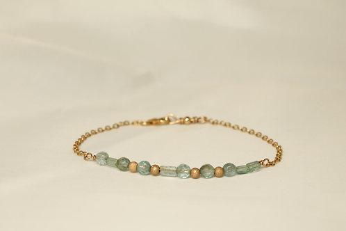 Apatite Morse Code Bracelet: Renew