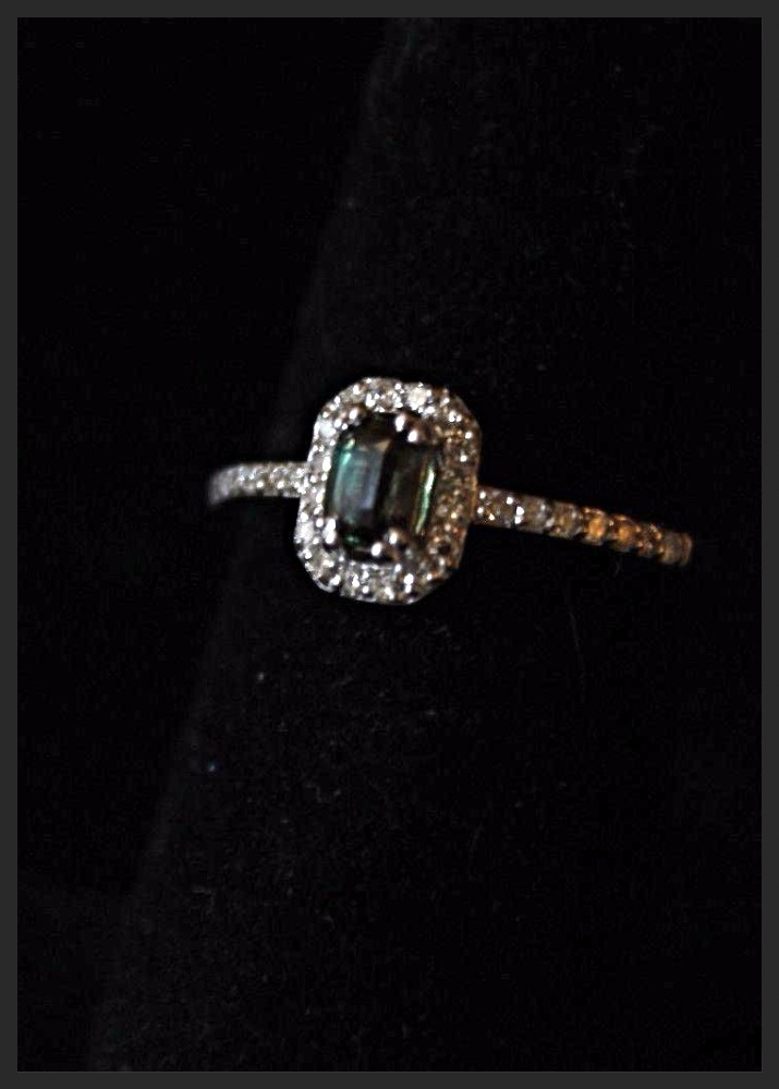 Natural Russian Alexandrite ring