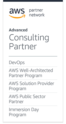DevOps_AWSWell-ArchitectedPartnerProgram_AWSSolutionProviderProgram_AWSPublicSectorPartner