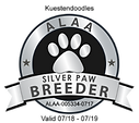 Kuestendoodles ALAA Silver Paw Logo.png