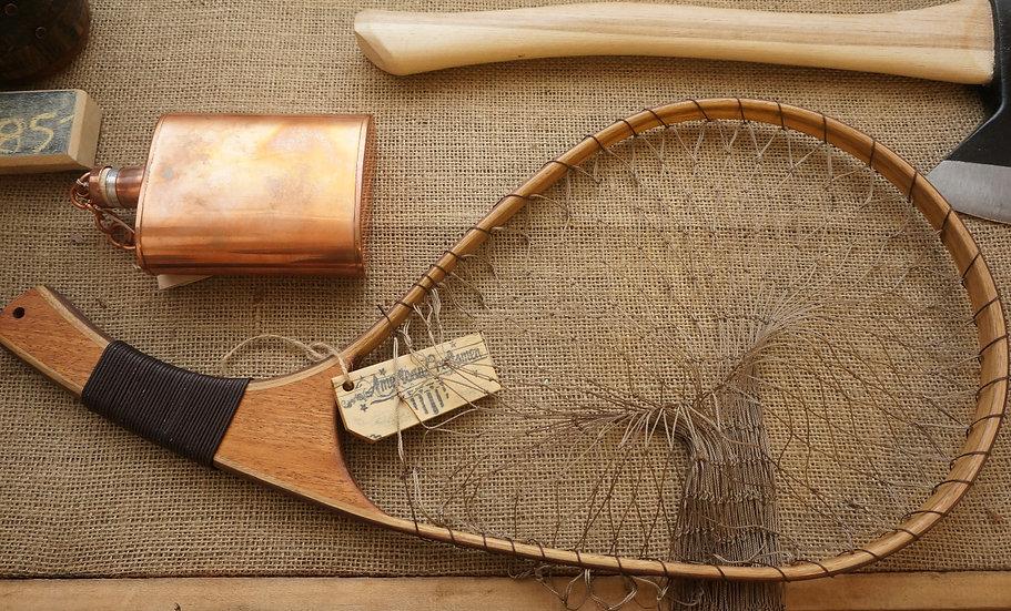 Curved Wood Fishing Net