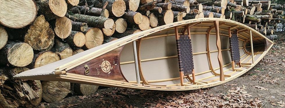 Handmade Skin on Frame Canoe