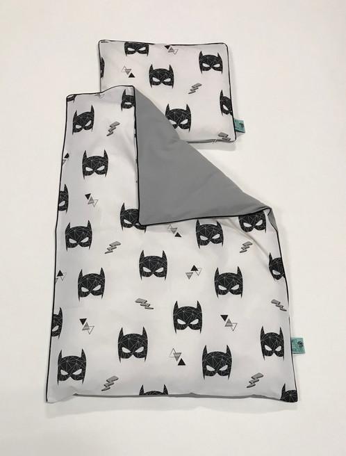 batman sengetøj Batman baby sengetøj Grå batman sengetøj
