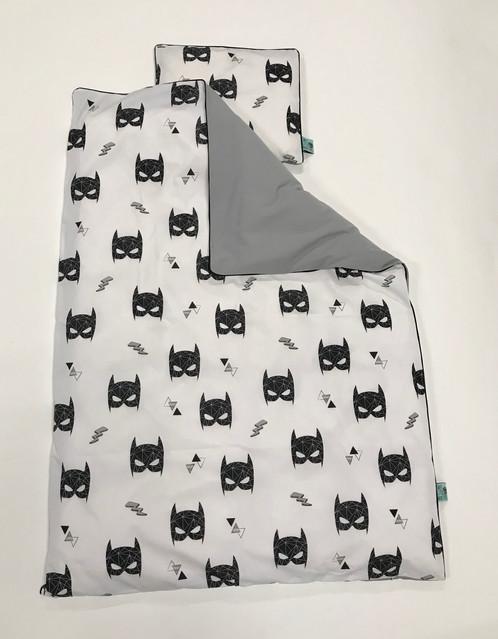 batman sengetøj Batman Junior sengetøj Grå batman sengetøj