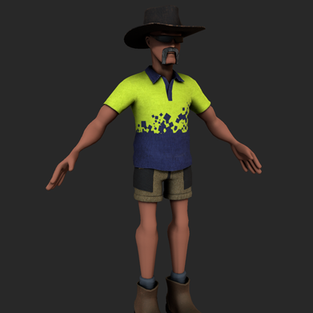 WIP unity character