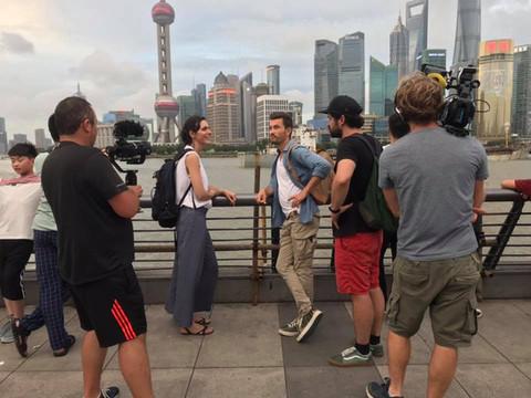 Tournage en Chine pour France 5