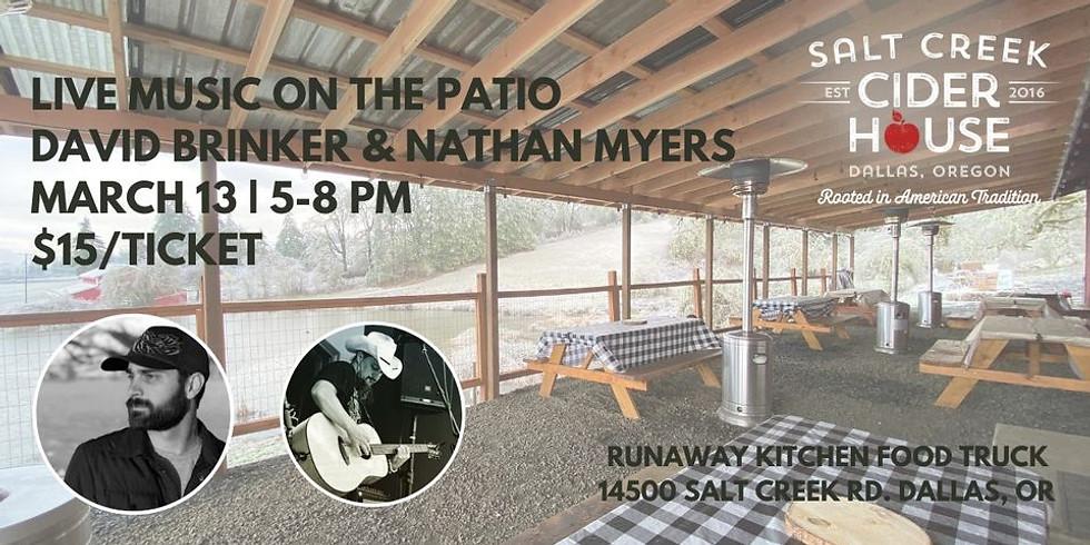 Nathan Myers & Dave Brinker live at Salt Creek Cider House!